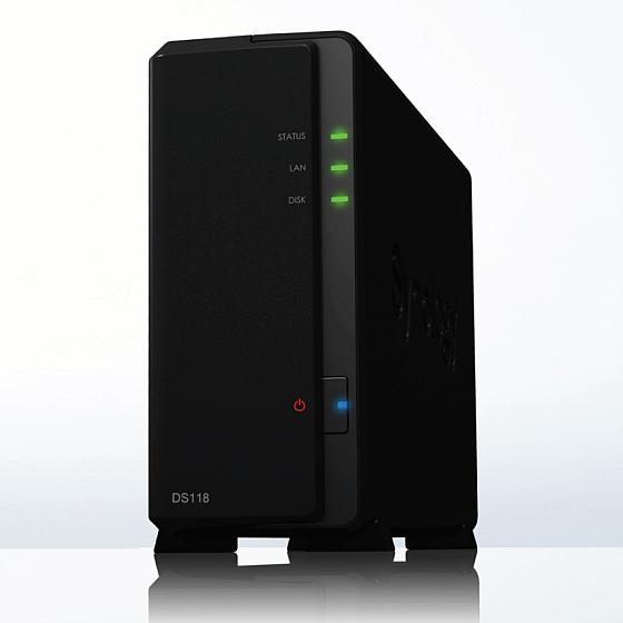 Synology NAS DS118 inkl. 10TB Bundle mit 1x 10TB HDs